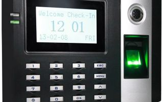 CONT. DE ASISTENCIA X HUELLA Y/O TARJ ID PANT LCD COLOR 3